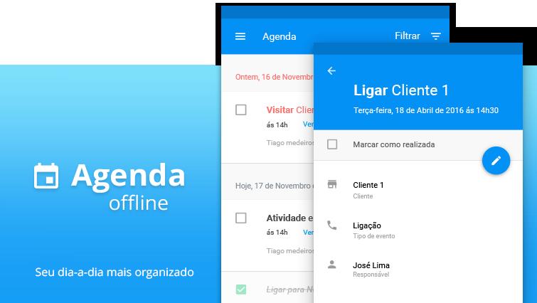 Organize o seu dia com a agenda nos aplicativos!
